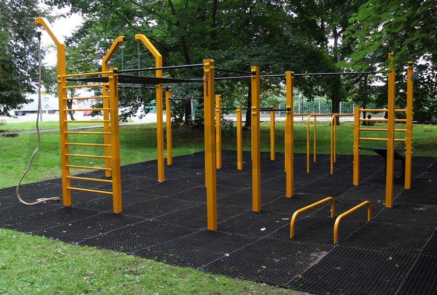 Street Workout Parking Design Park Workout