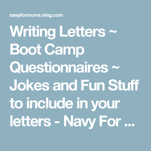 Fresh What to Say In A Marine Boot Camp Letter | Chart