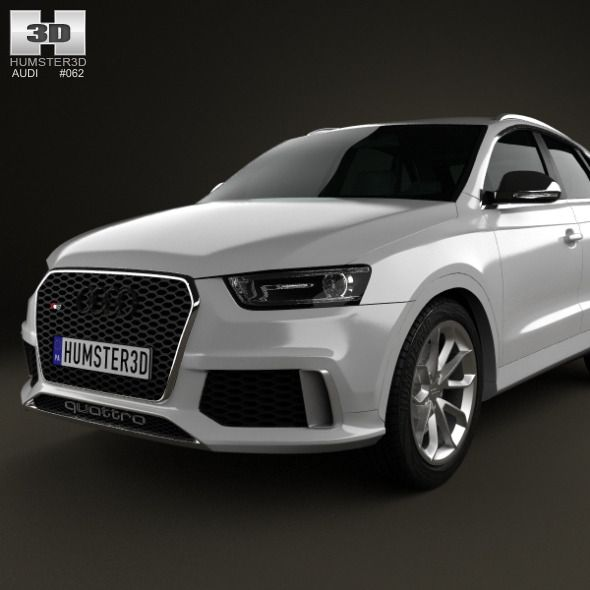 3d Model Mercedes Benz Glc Class C253 Coupe Amg Line 2016: Audi RS Q3 2013 (With Images)