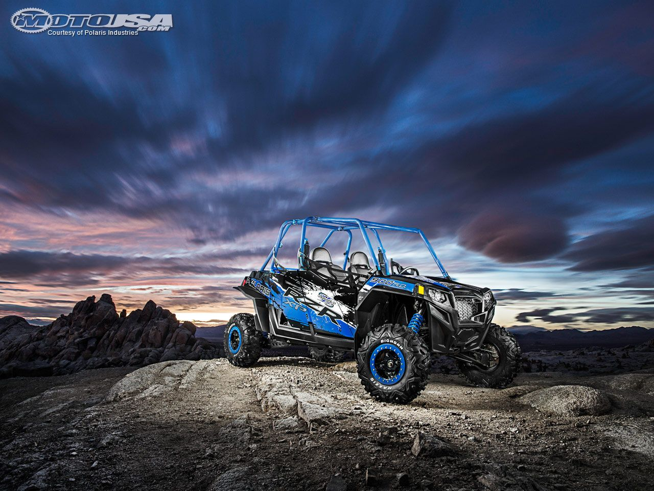 Polaris unveils the 2013 RZR XP 900 HO Jagged X Edition