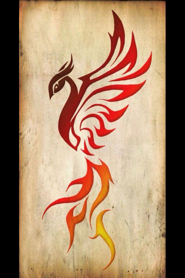 M tica ave f nix que resurge de sus cenizas tattoos for Fenix tribal tattoo