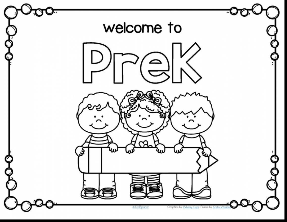 Last Day Of Preschool Coloring Pages