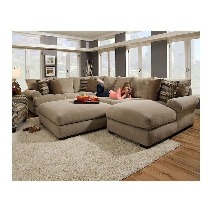Cool The Henderson 3 Piece Sectional Sofa And Ottoman In Baccarat Caraccident5 Cool Chair Designs And Ideas Caraccident5Info
