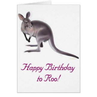 Image Result For Birthday Wishes With Kangaroo Happy Birthday Birthday Messages Cards
