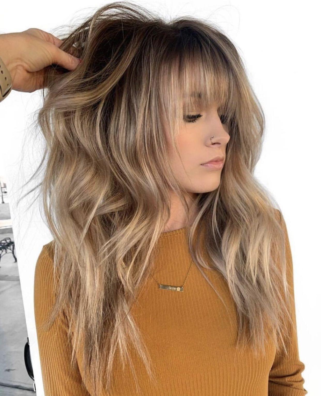 2019 Bangs Trends: Long Hair Styles, Haircuts