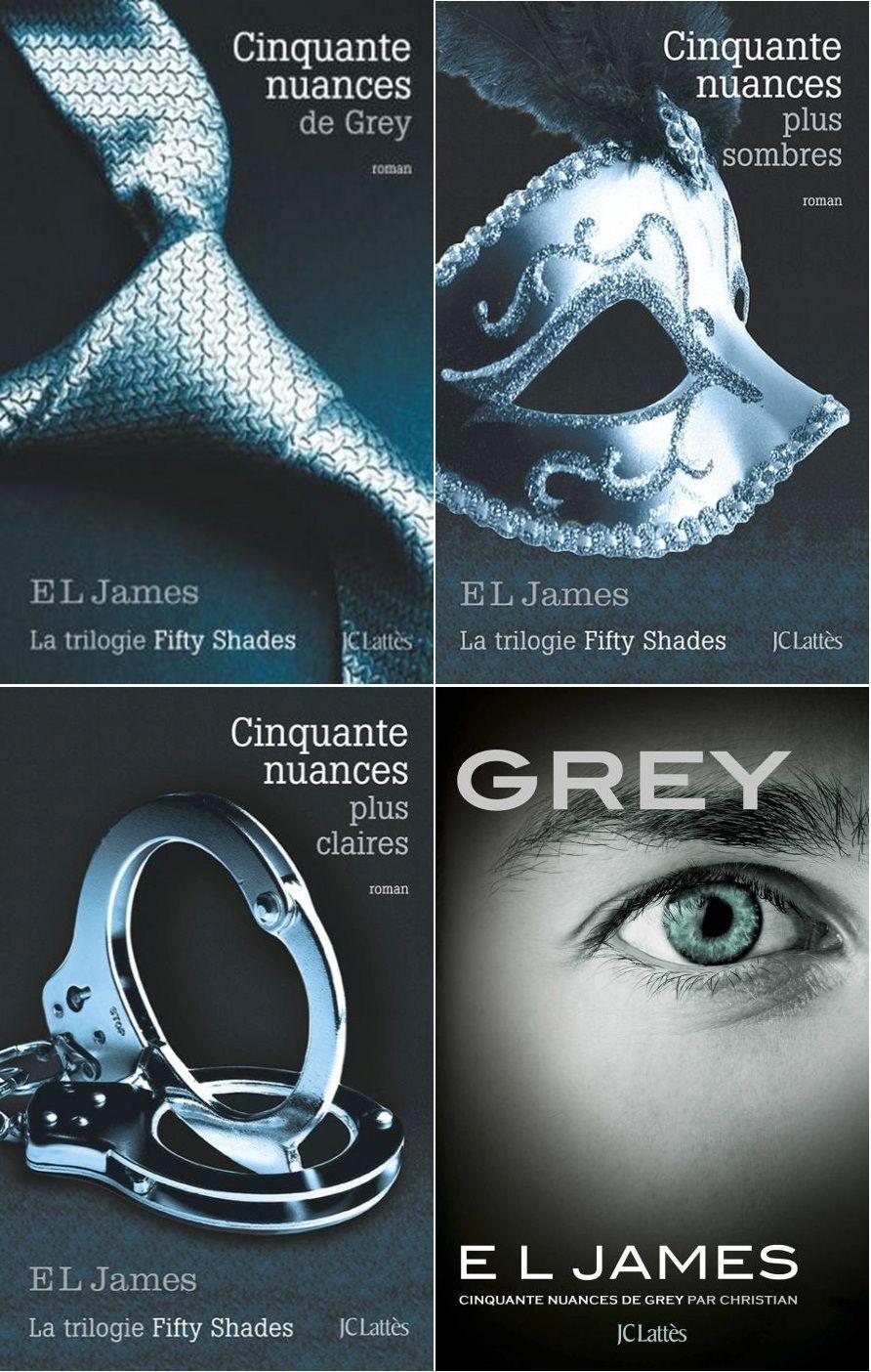 Trilogie Cinquante Nuances De Grey : trilogie, cinquante, nuances, Fifty, Shades, Cinquante, Nuances, Grey,, Nuances,