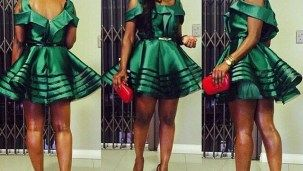 ANKARA SHORT DRESSES STYLE - Loud In Naija #afrikanischerstil