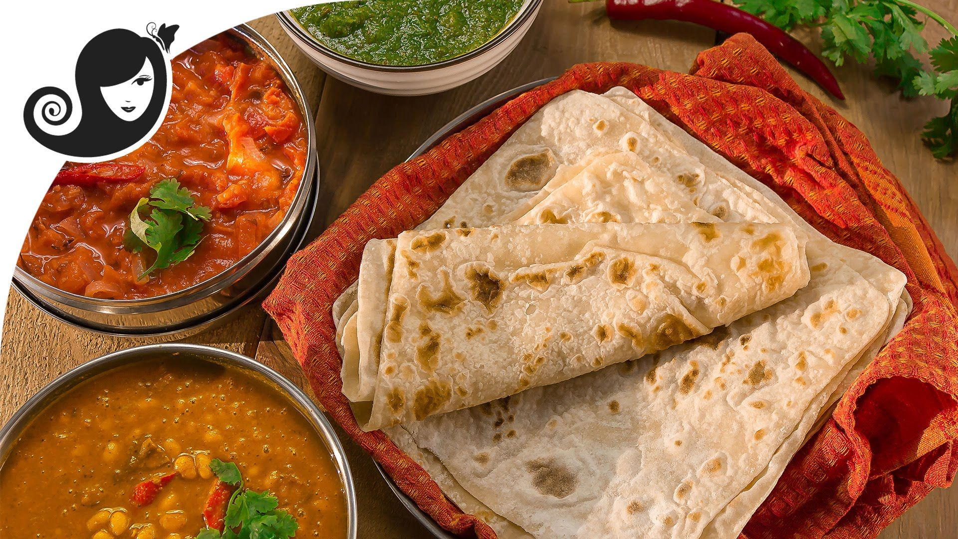 Roti fillings 1 3 oil free roti farata or paratha - Mauritian cuisine 100 easy recipes ...