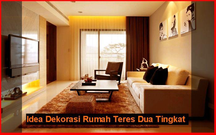 idea dekorasi rumah teres dua tingkat berkongsi gambar