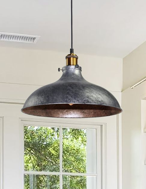 Large Dome Pendant Home Lighting Farmhouse Lighting Industrial House