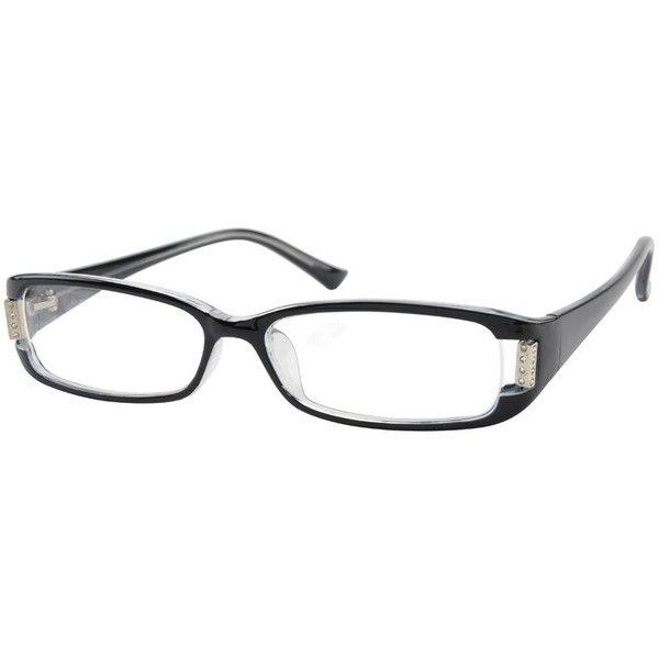Zenni Optical - Eyeglasses, 264621 Plastic Full-Rim Frame Glasses ...