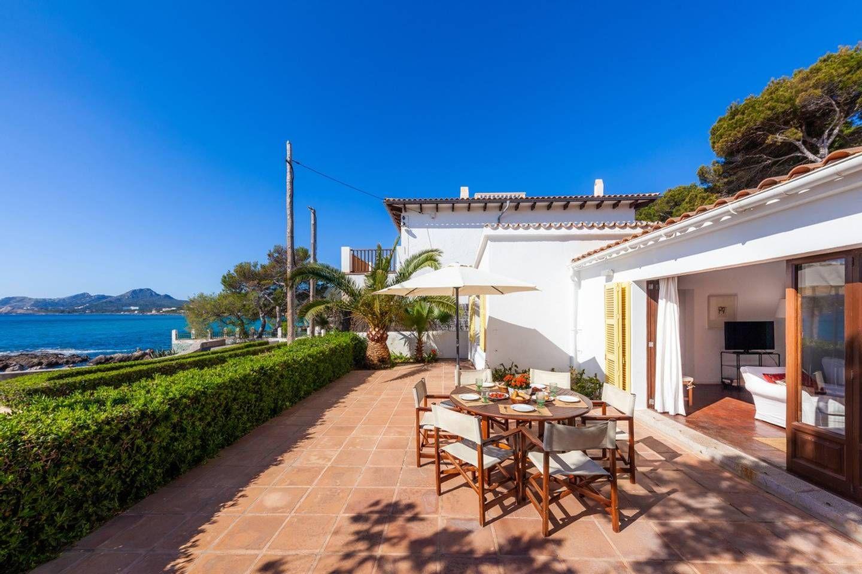 Mit Terrasse direkt am Meer Casa Ca'n Morant Häuser