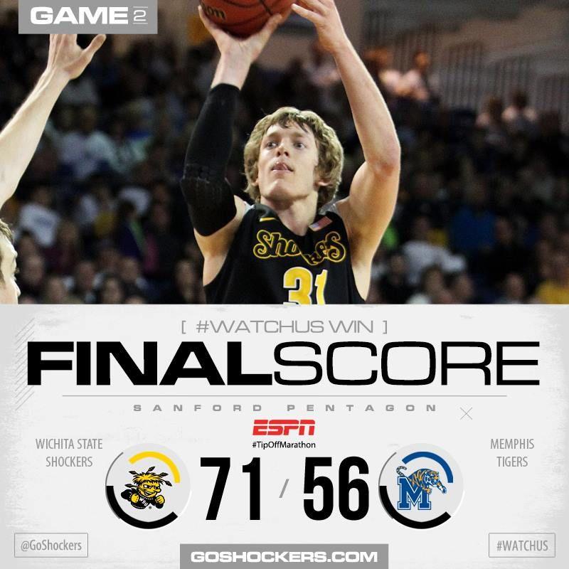 Shocker Basketball WSU / Memphis Tigers Wsu shockers