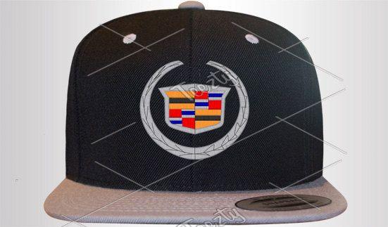 6bf5eea5ce9d1 Cadillac logo Snapbacks