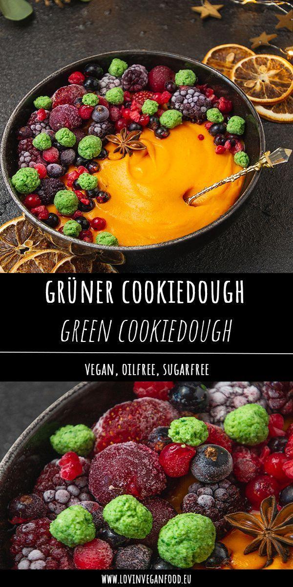 Vegan Cookiedough #proteincookiedough