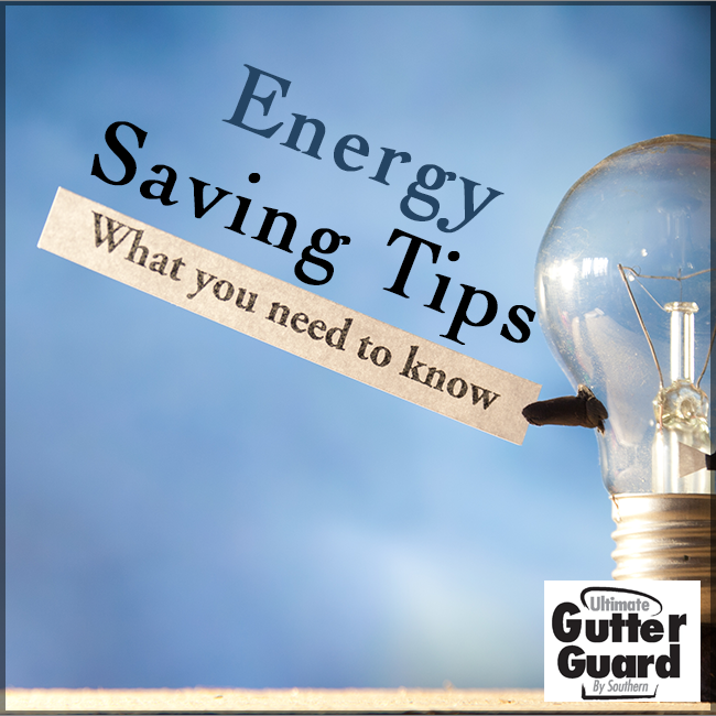 Here are some ways to save energy during the winter months