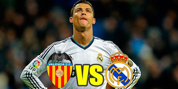 Image result for Real Madrid vs Valencia live pic logo