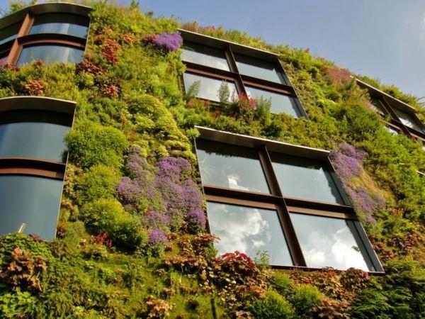 Vertikal Garten vertikal garten kunst idee originell modern haus