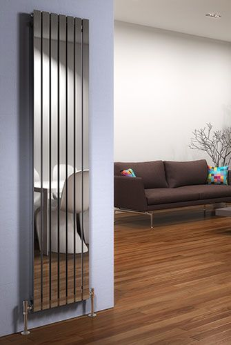 Adds a bit of shine shimmer to a room vertical - Designer vertical radiators for kitchens ...