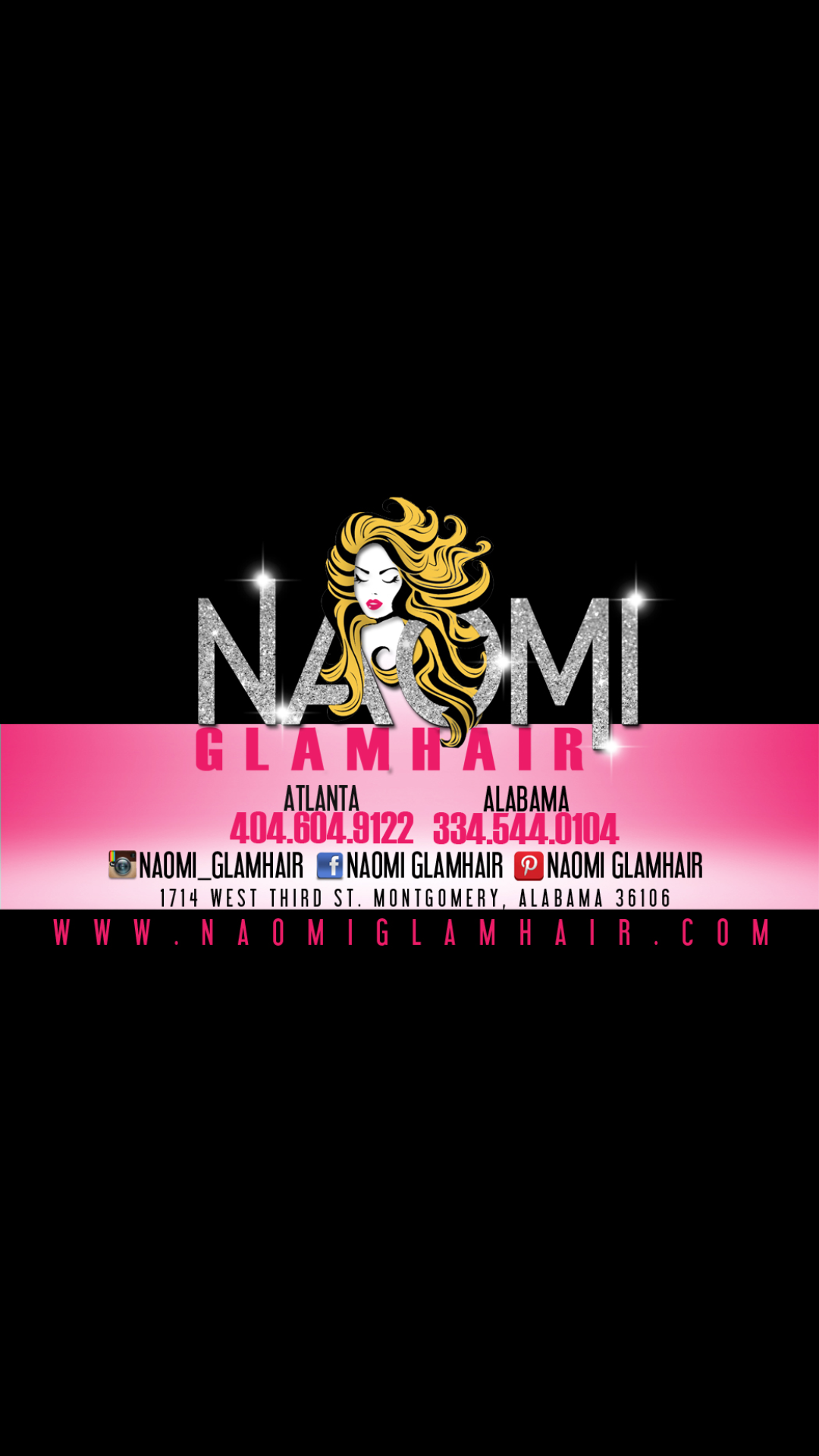 Naomi Glamhair A Virgin Hair Company Located In Montgomery