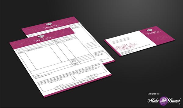 Bill Book Envelope Designed On Behance Billbook Design Branding Identity Envelope Jewellery Envelope Design Brand Identity Design Design