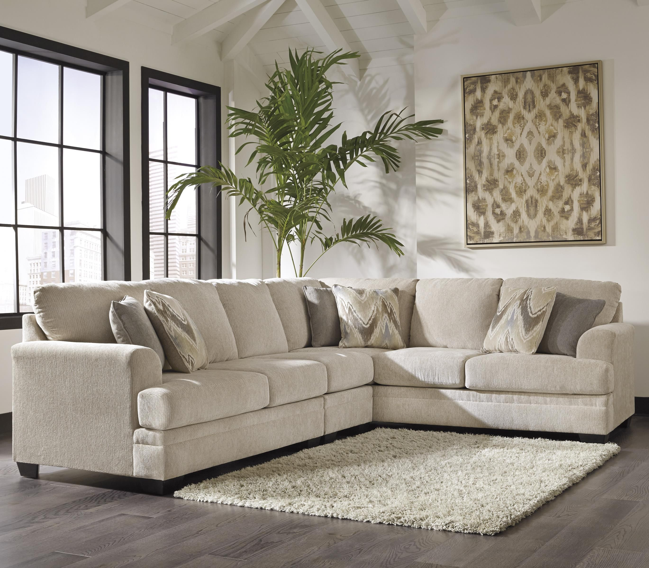Excellent Ameer 3 Piece Sectional By Benchcraft Beach House Uwap Interior Chair Design Uwaporg