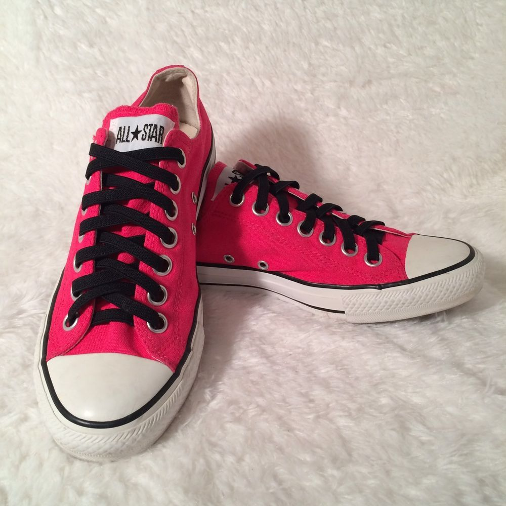 c018b81c491c Converse All Star Hot Pink Shoes Women s Size 10.5