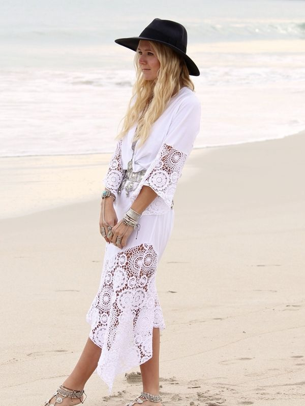 6dca66be1e1 50 Boho Fashion Styles for Spring Summer 2019 - Bohemian Chic Outfit ...