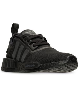 5b78b67a6 adidas Men s Nmd Runner Casual Sneakers from Finish Line - Black 11.5