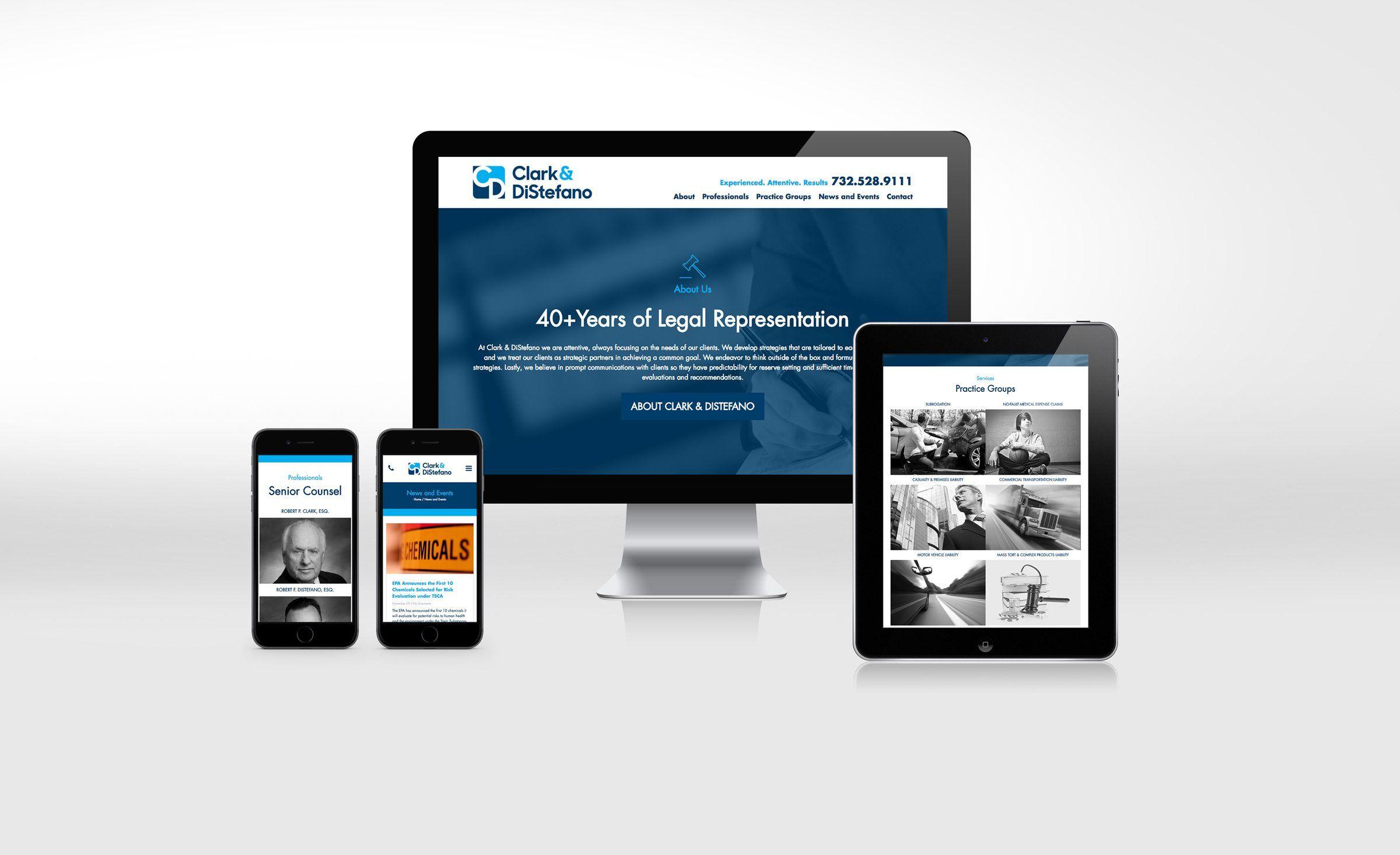 Clark Distefano Kickcharge Creative Portfolio Web Design Web Design Website Design