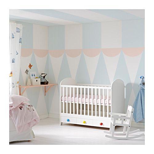 GONATT Babybett - IKEA Kinderzimmer Pinterest Kinderzimmer - schlafzimmer einrichten mit babybett