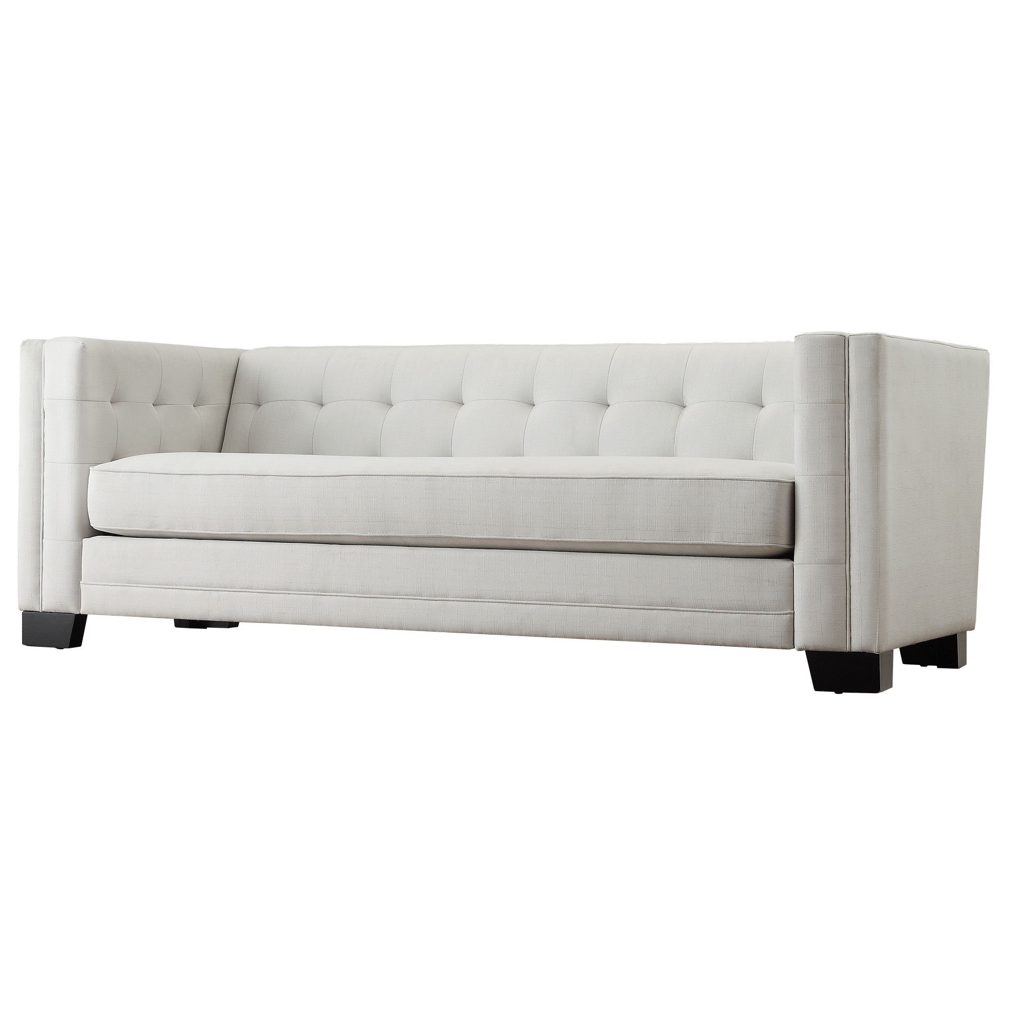 Kingstown Home Corvin Square Tufted Sofa Tasarım