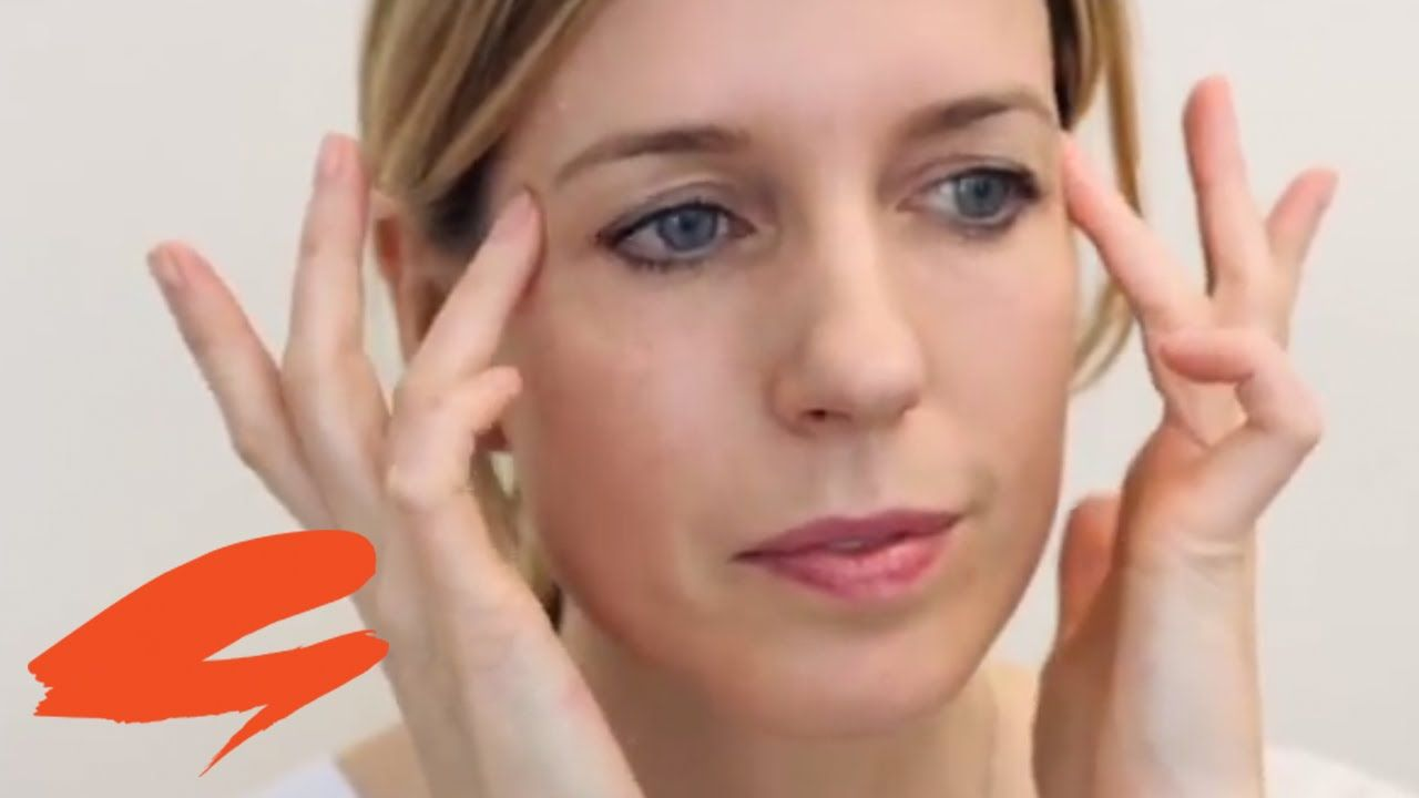 How to do an eye massage with Sarah Chapman | Get The Gloss