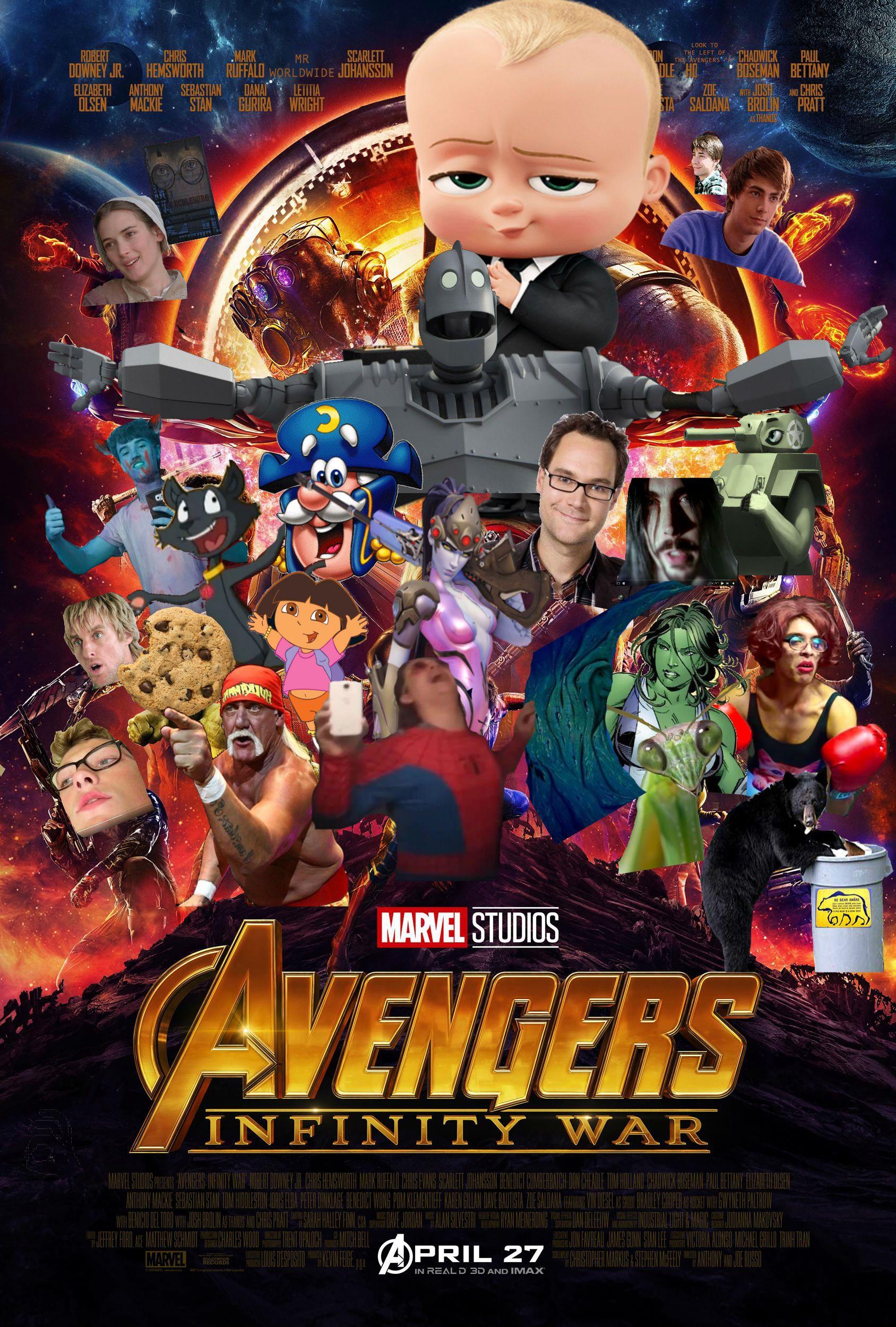 Higher Quality Avengers Infinity War Poster Avengers Funny Marvel Posters Avengers