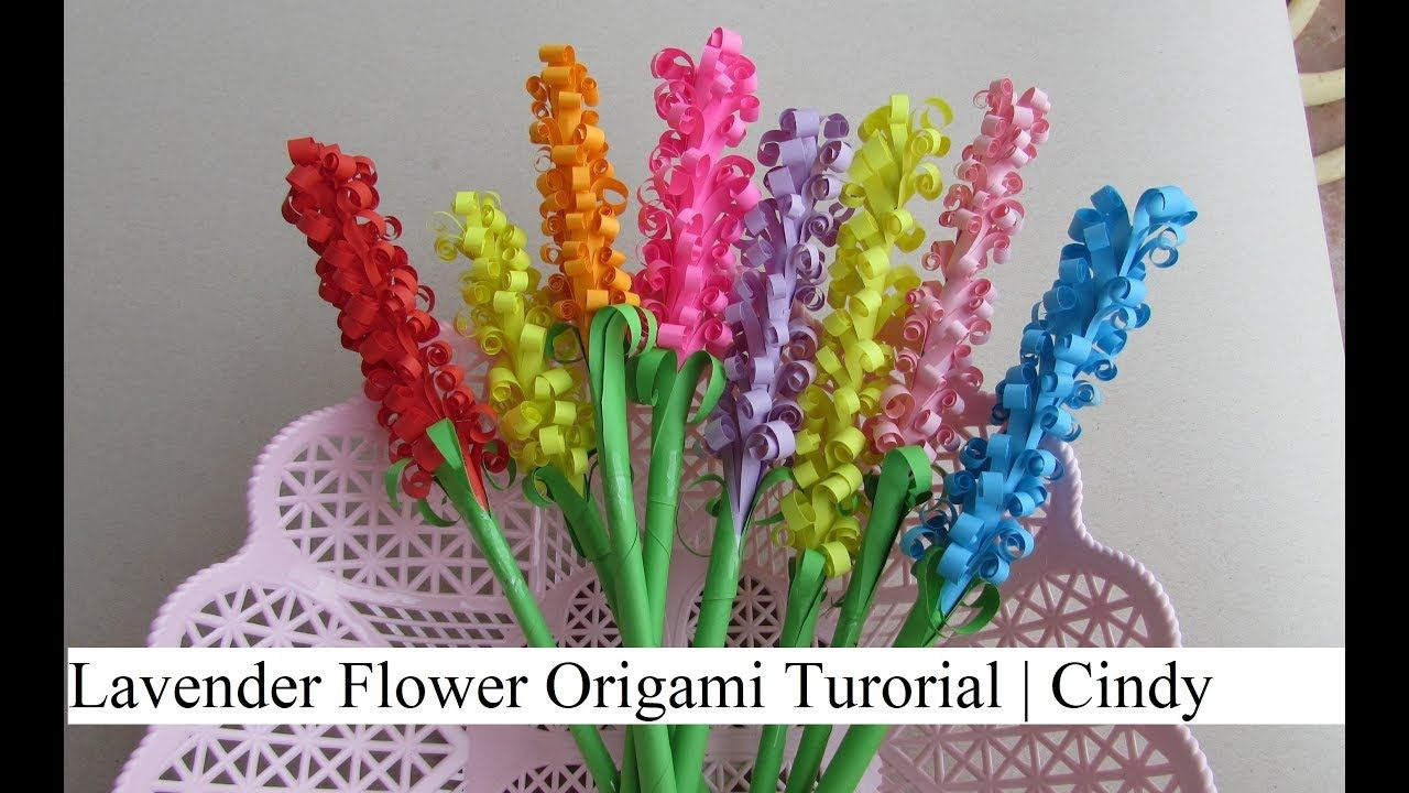 How to make 3d origami flower model1 - video dailymotion | 720x1280
