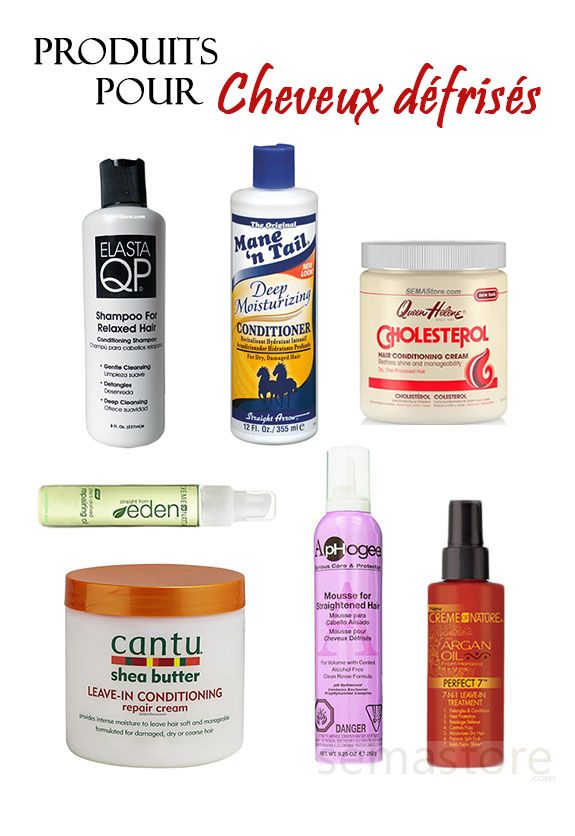 Produits pour cheveux d fris s products for relaxed hair for Quelle tva pour quel produit