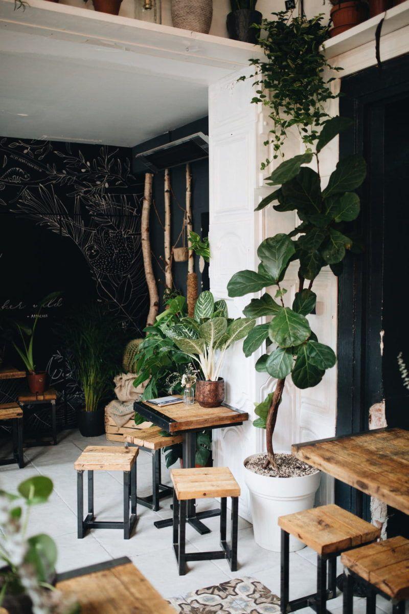 The Greens Coffee And Plants Cafe Interior Berlin Home Decor Design Visual Cafe Decor Coffee Shop Interior Design Cafe Interior Design