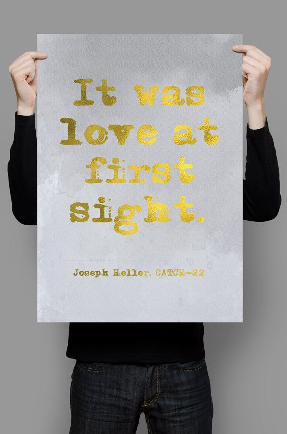 Catch 22 Quotes Custom Joseph Heller Quote Catch48 Quote It Was Love At First Sight