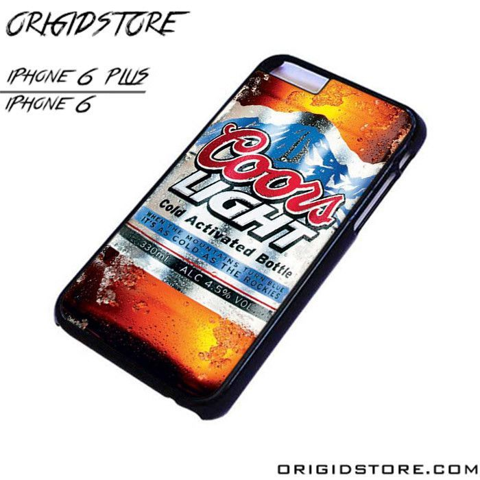Coors Light Thermo Sheet For IPhone Cases Phone Covers Phone Cases IPhone 6  Case IPhone 6 Plus Case Smartphone Case