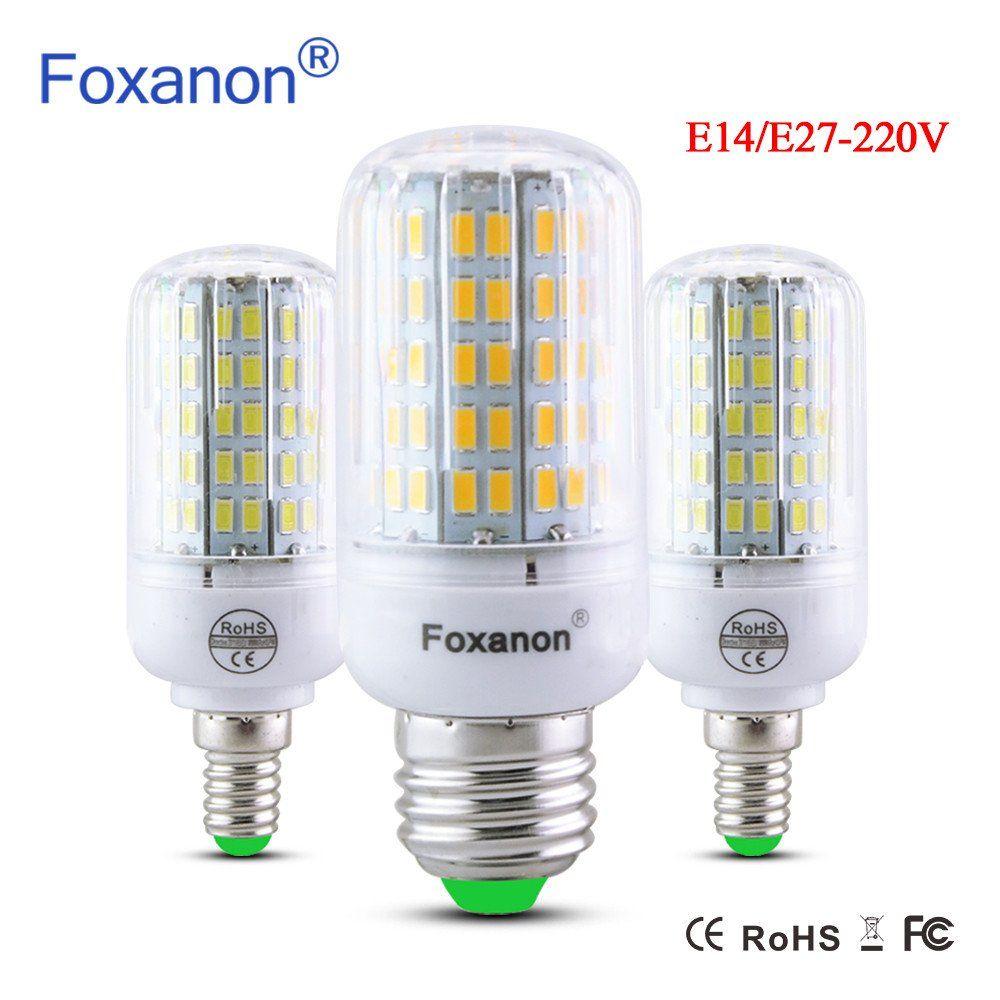 New Arrival E27 E14 220V LED Lamp LED Bulb Corn 24 30 42 64 80 89