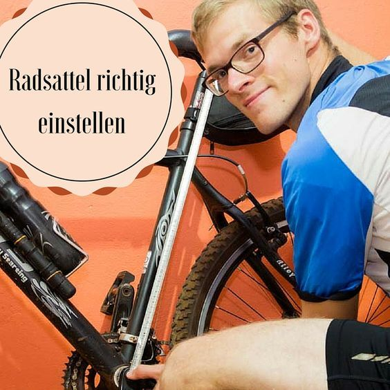 fahrradsattel-einstellen | Fahrradsattel, Fahrrad