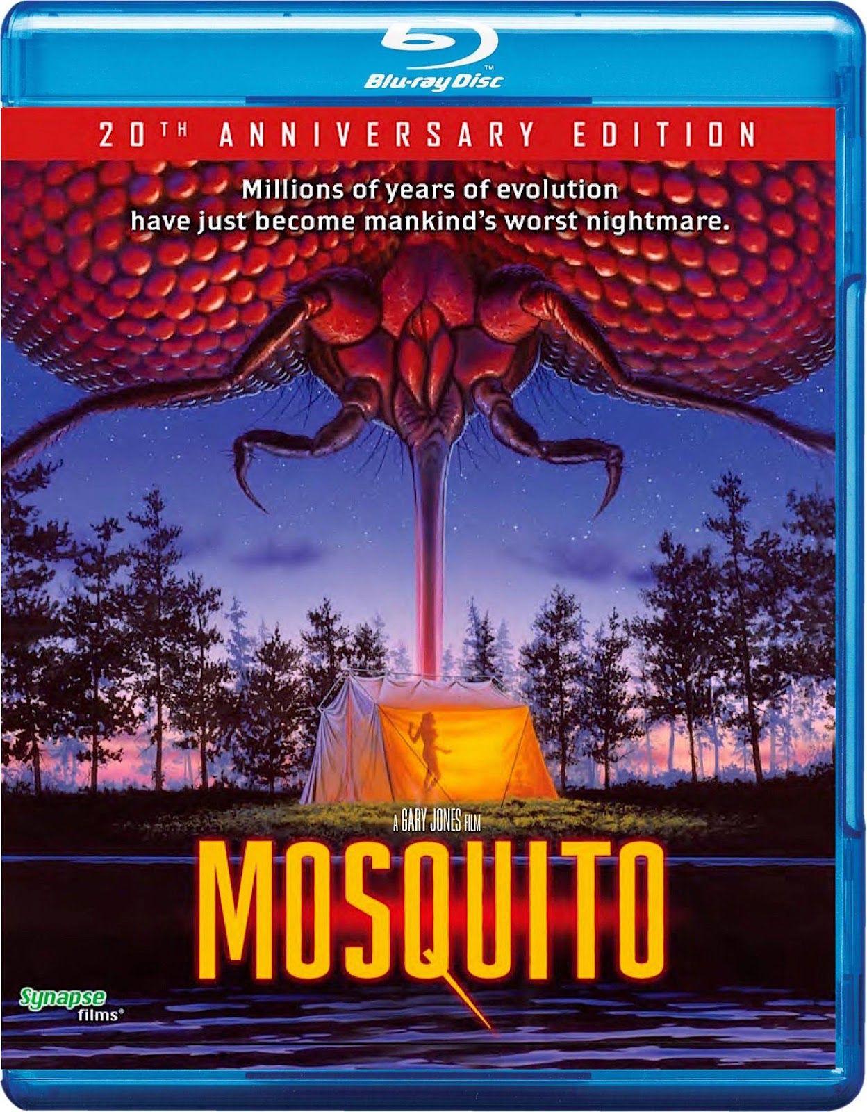 MOSQUITO 20TH ANNIVERSARY EDITION SYNAPSE FILMS BLURAY
