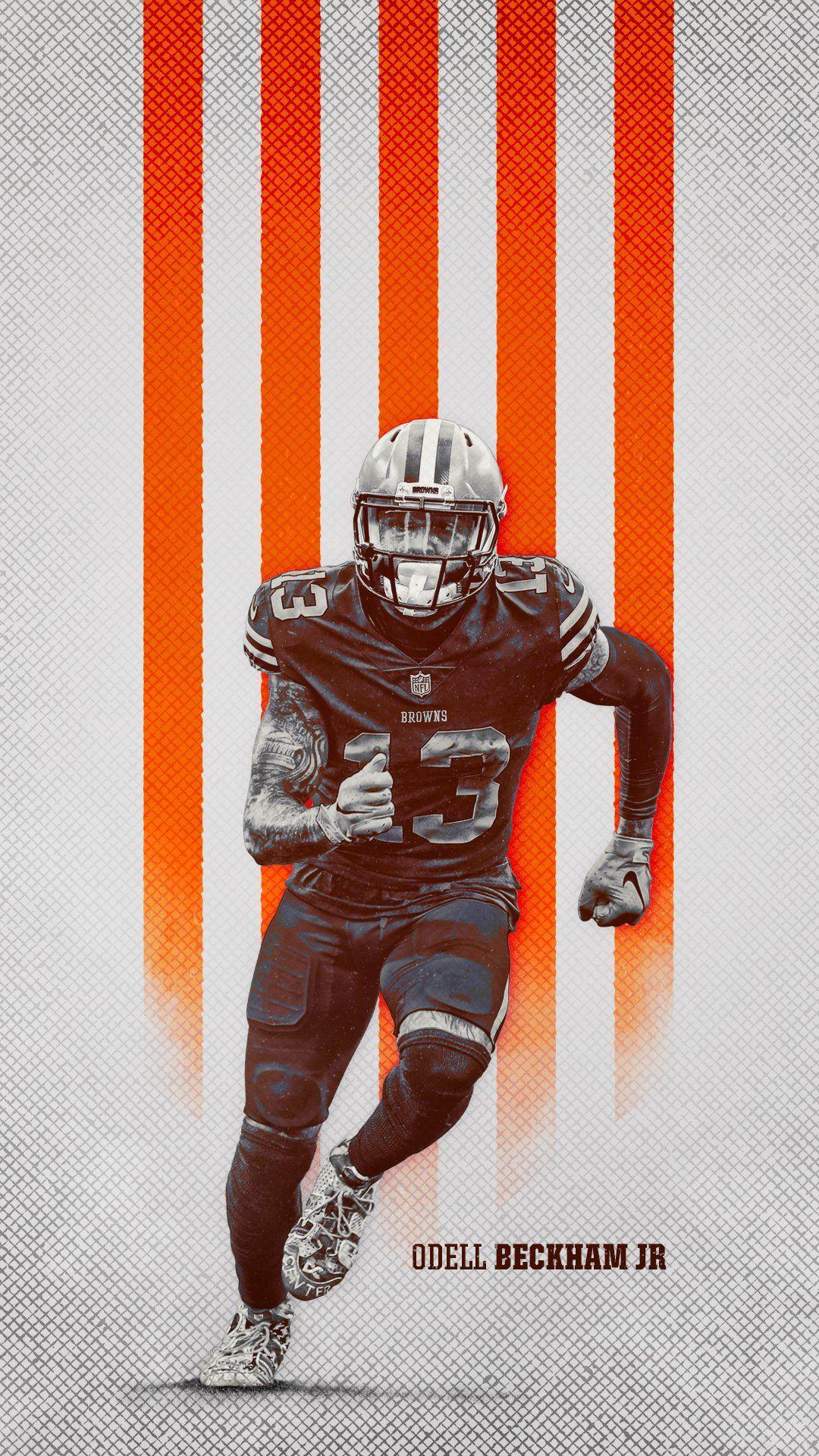 Odell Beckham Jr Cleveland Browns Phone Wallpaper In 2020 Odell Beckham Jr Odell Beckham Jr Wallpapers Beckham Jr
