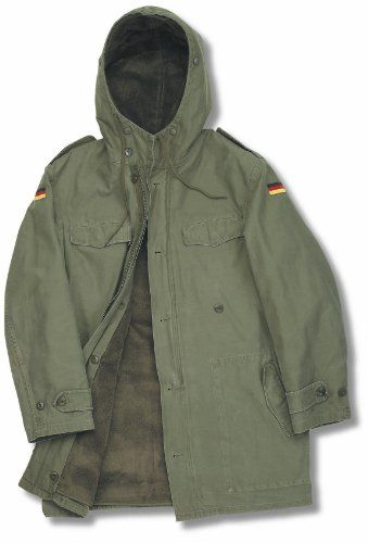 3f47a4fc Genuine German Army Nato Parka | Clothes and shoes | Men's coats ...