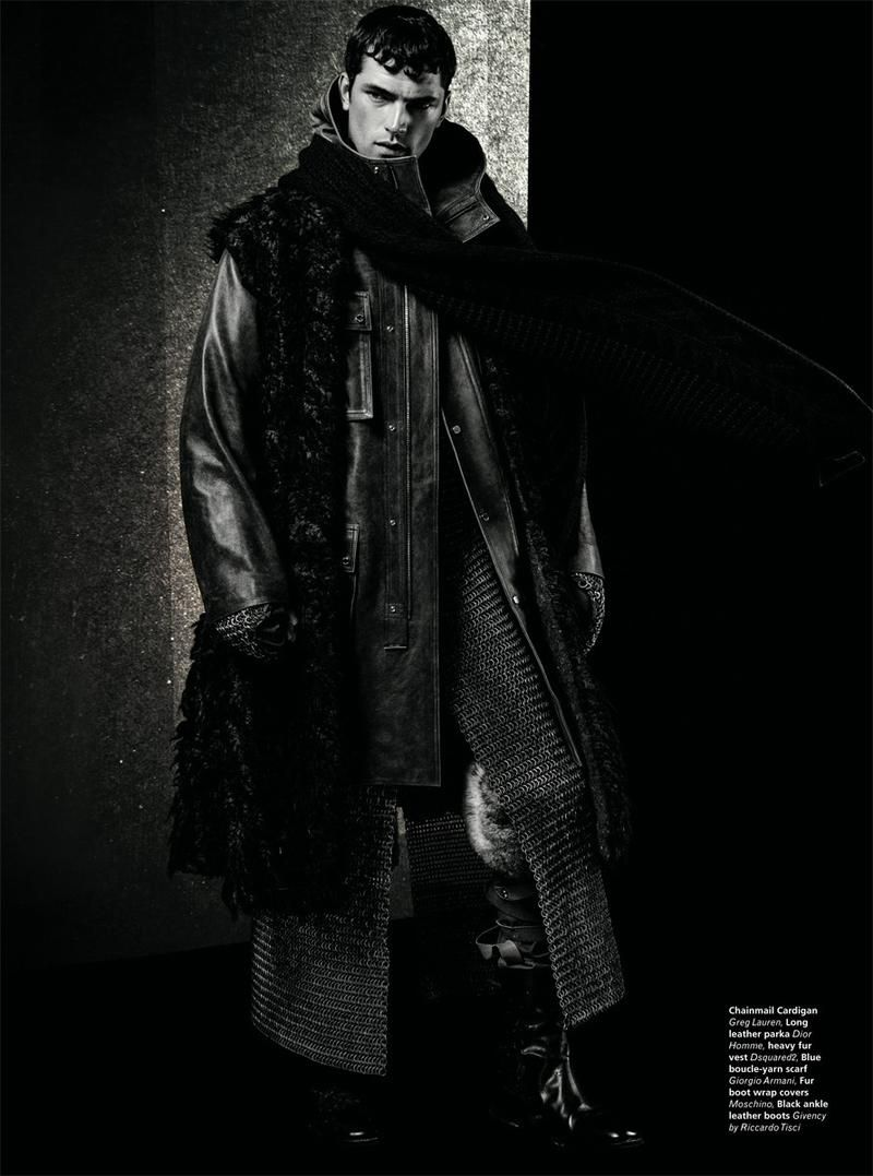 Sean OPry is Fashions Knight in LOfficiel Hommes Middle East