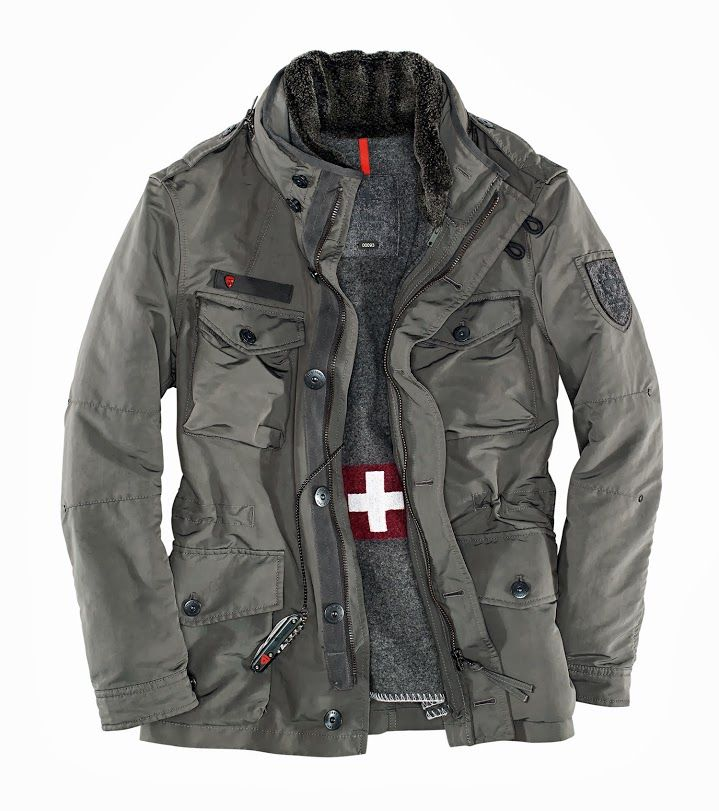 Strellson Swiss Cross Jacket Quot J C Squad Quot Mens Fashion