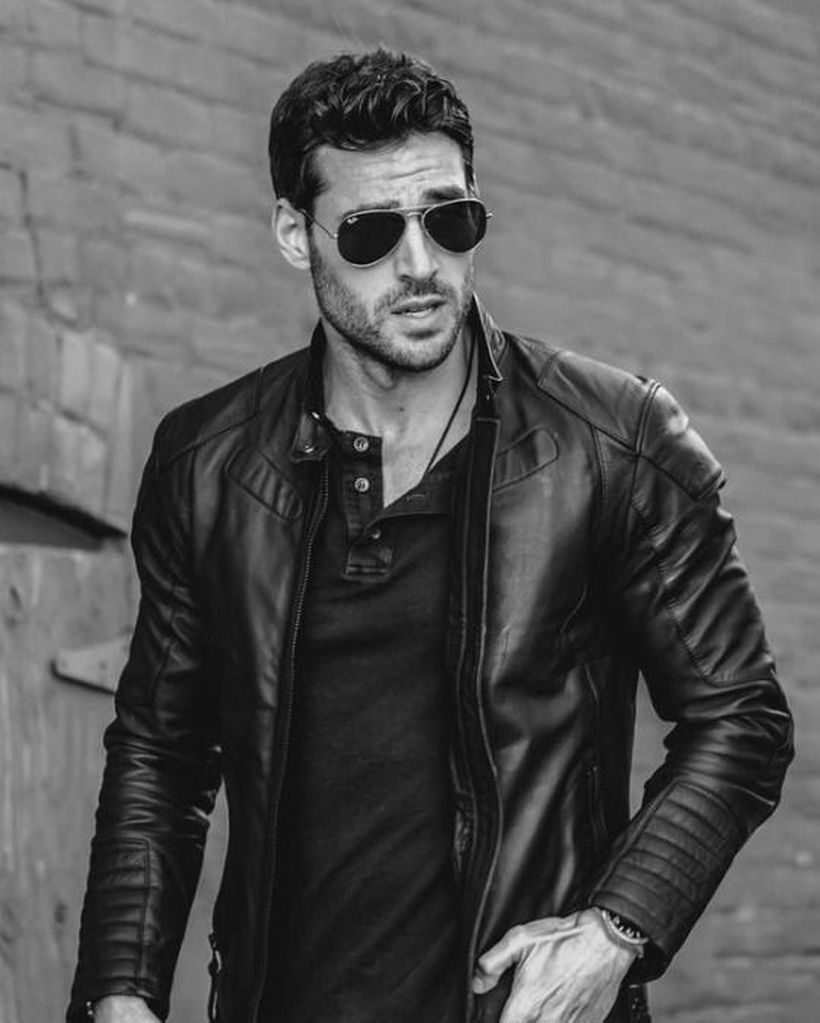 48 Best Leather Jacket Clothing Ideas for Men #mensstyle Activewear has also grow to be a big and rising market. Religious clothing may be considered a unique case of occupational clothing. Fast fashion clothing has also turn into a worldwide phenomenon. Needless to say, there are various distinct varieties of leather jackets. If you're a brief guy, don't pick a jacket that's so long … #leatherjacketoutfit