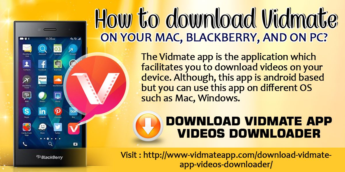 Pin by Vidmate App on How to download Vidmate on your Mac