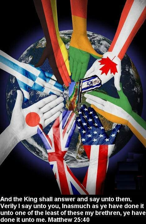 Hands of the Flags