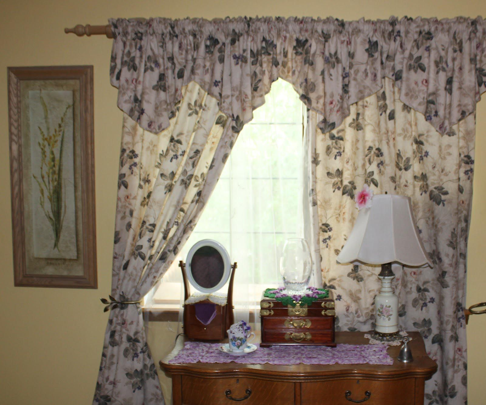 Tailored Valances For Bedroom